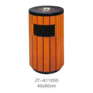 鋼木垃圾桶系列 JT-A11200
