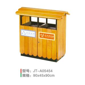 鋼木垃圾桶系列 JT-A05454