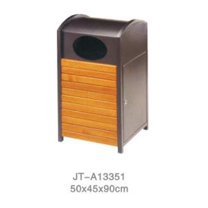 鋼木垃圾桶系列 JT-A13351