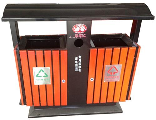 鋼木垃圾桶系列 jt-a03450