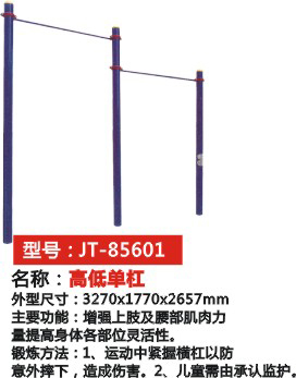 高低單杠 JT-85601