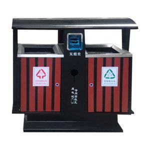 鋼木垃圾桶系列 JT-G001
