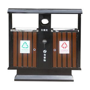 鋼木垃圾桶系列 JT-G002