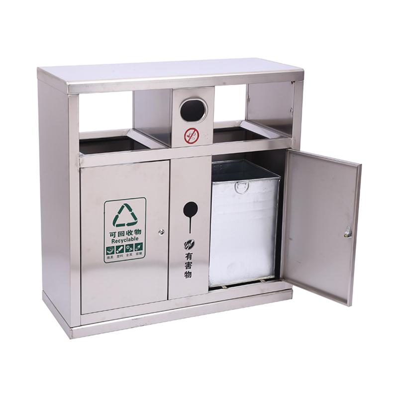 不銹鋼/鋼板噴塑垃圾桶系列 100*38*100