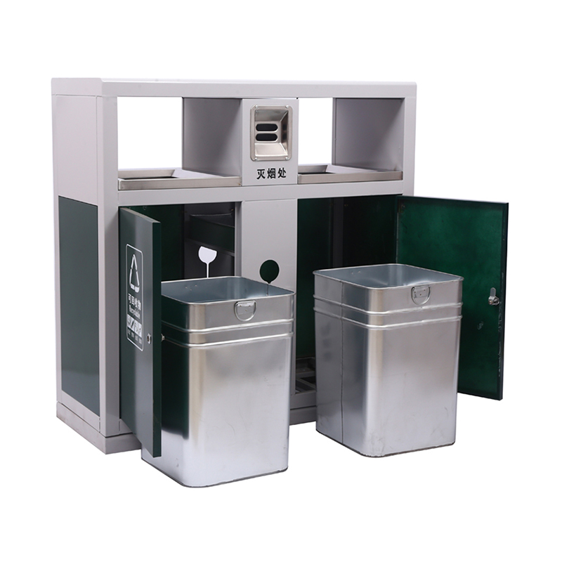 不銹鋼/鋼板噴塑垃圾桶系列 94*38*94