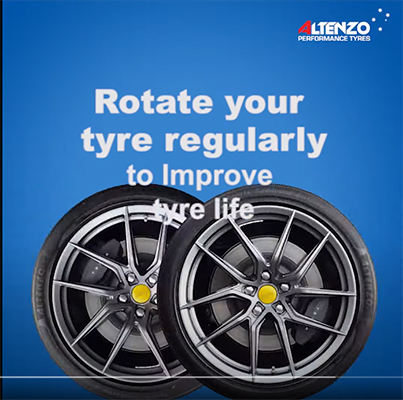 Altenzo Tips 1 - Rotate your tyres regularly to improve tyre life