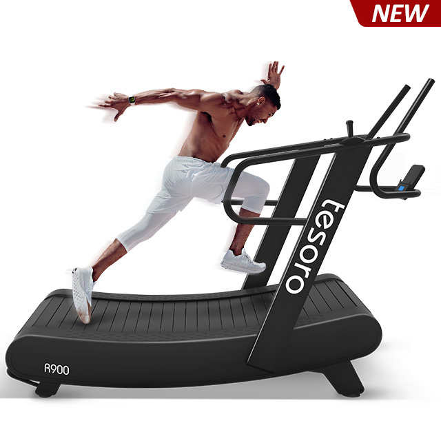2019 new non-motorized curved treadmill no maintance required just like running outside R900
