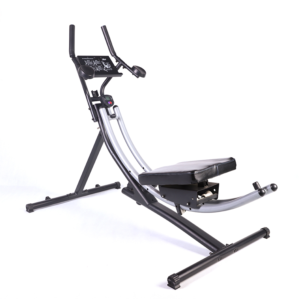 Abdominal exercise bike