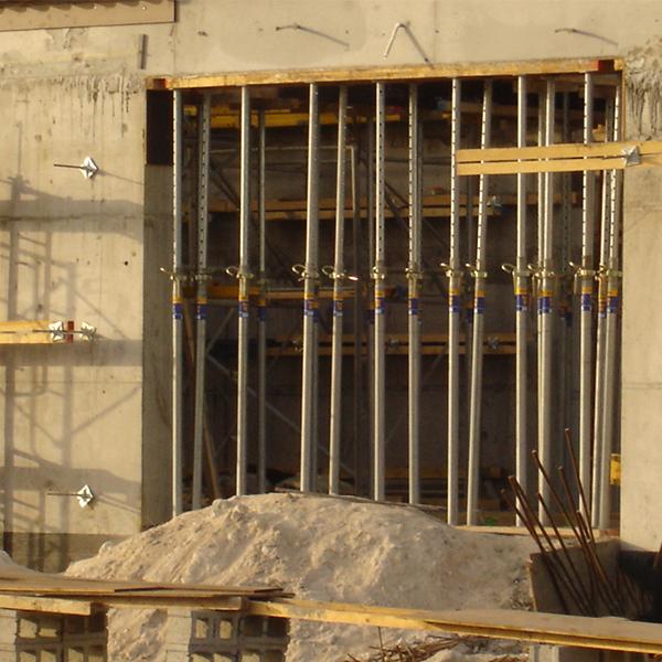 独立钢支撑顶板体系