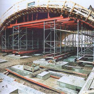塔架顶板体系