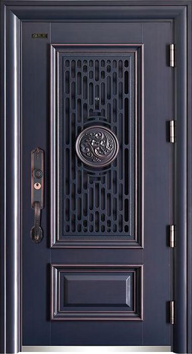 和諧鋁門中門(仿銅)