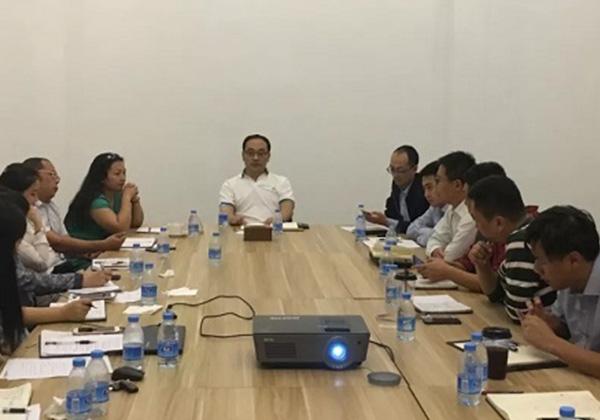三亚信投公司召开年度经营工作会议