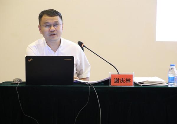谢庆林副市长到云港园区宣讲十九大精神