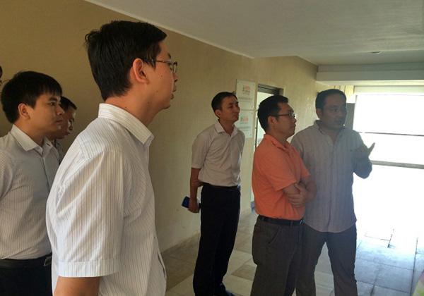 海南团省委副书记曾锋一行赴三亚云港园区考察调研