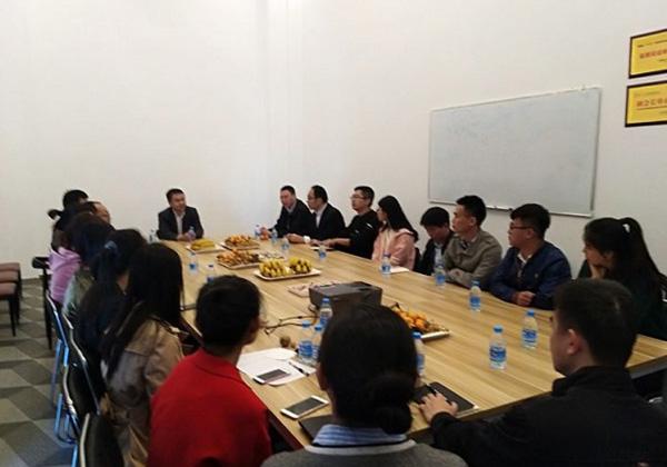 谢庆林副市长赴云港慰问春节值班人员并检查大数据中心运行情况
