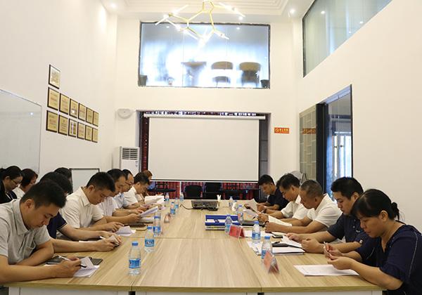 市国资委监事会主席陈朝江率考核组赴我司开展2017年度监督检查工作