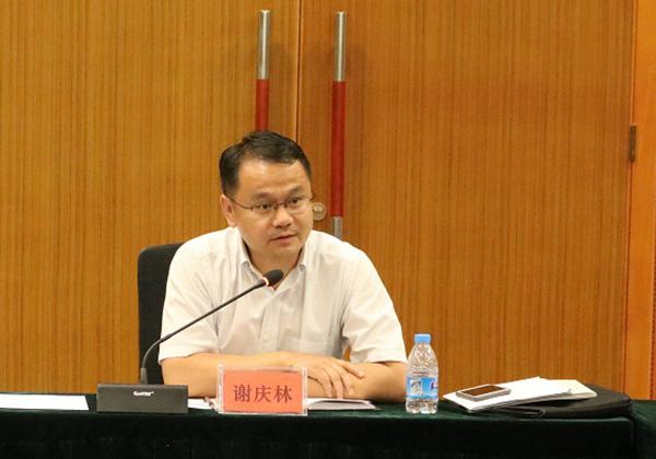 谢庆林副市长调研云港互联网创业基地 与企业代表座谈