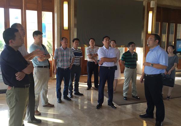 安徽省企业家考察团赴云港园区考察
