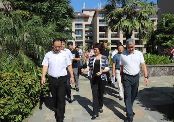 省人社厅厅长何琳赴三亚云港园区调研创业就业工作