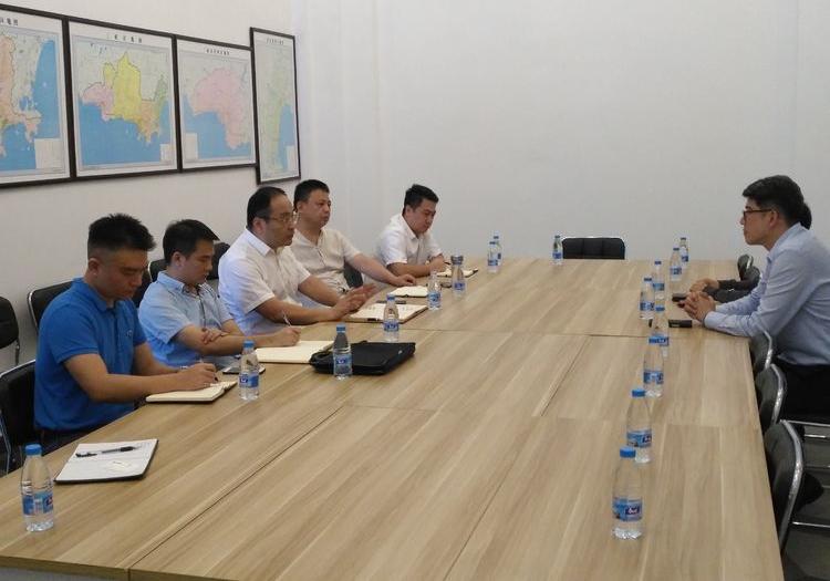 科技集团召开与德勤中国合作交流会