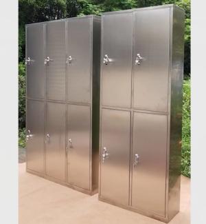 不銹鋼四門、六門更衣柜 不銹鋼四門、六門更衣柜XFY