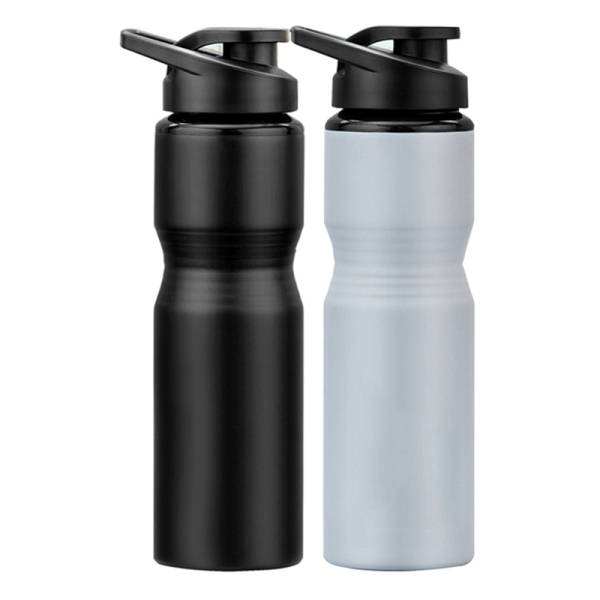 750ML wide mouth aluminum water bottle with sipper lid WJ-750A-WM