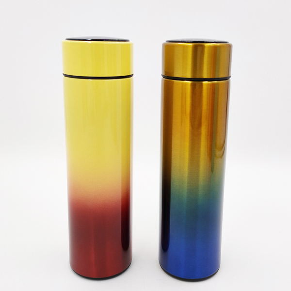 LED temperature display vacuum flask WJ-500S-TD