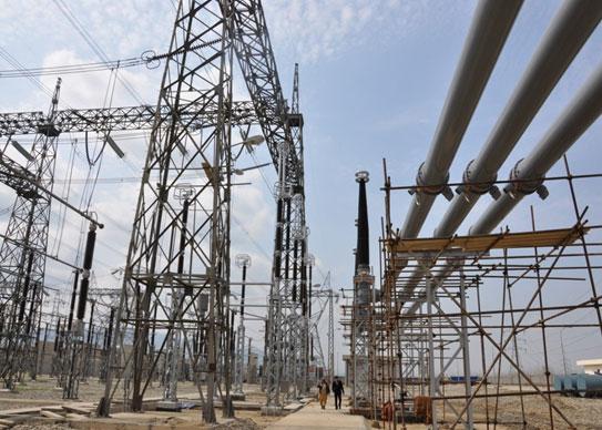 出口非洲的變電站設備