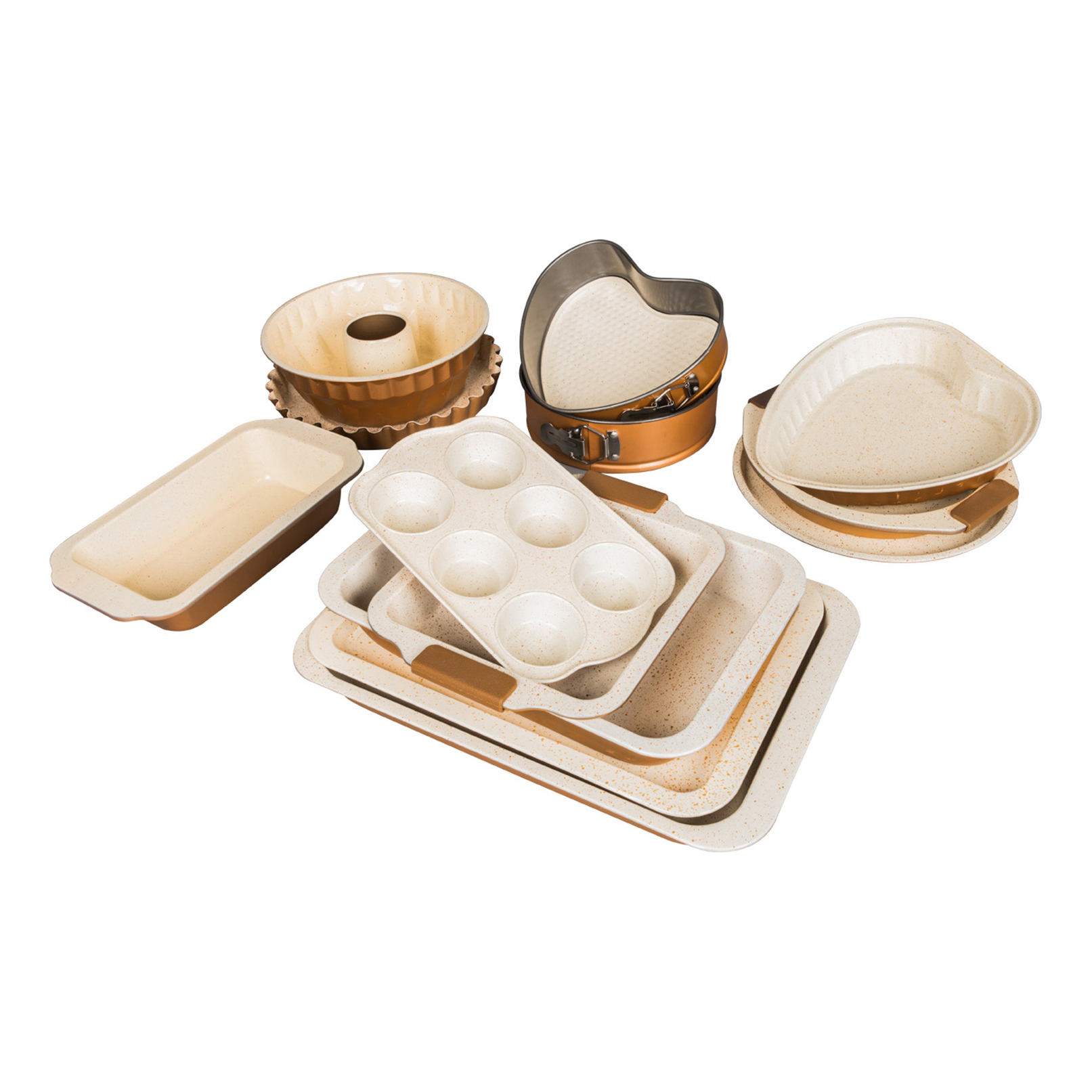 CREAM CERAMIC BAKEWARE SERIESCOLOR08