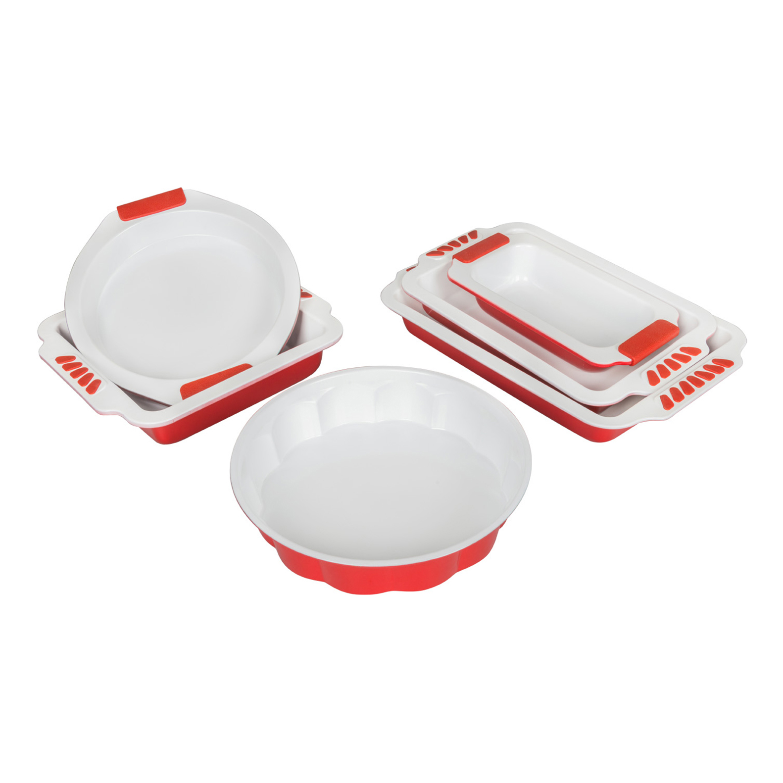 WHITE CERAMIC BAKEWARE SERIESCOLOR12