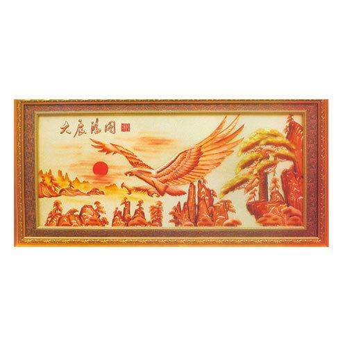 紫銅浮雕系列 大展宏圖