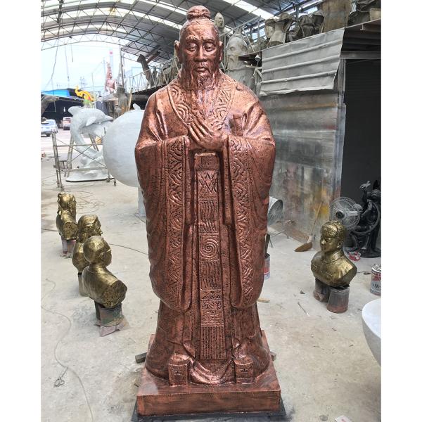 玻璃鋼雕塑 銅像
