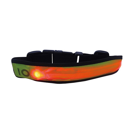 Led reflective wrist strap series HYLR-012