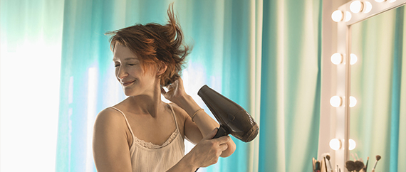The kinds of hair dryer