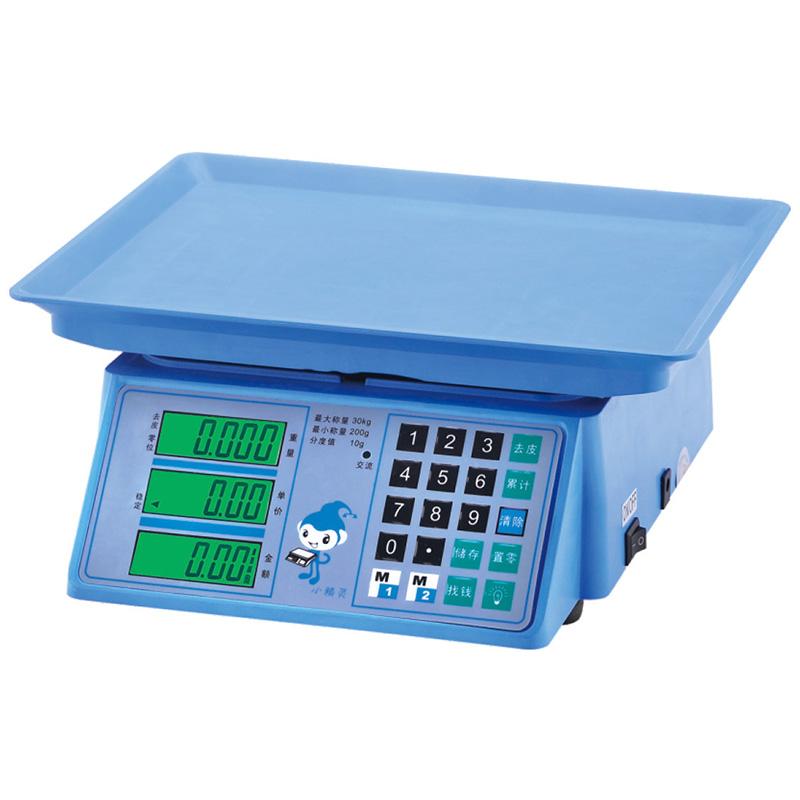电子计价秤系列YZ-206小精灵