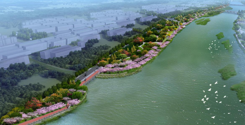 永康市龍川東路沿江綠化工程