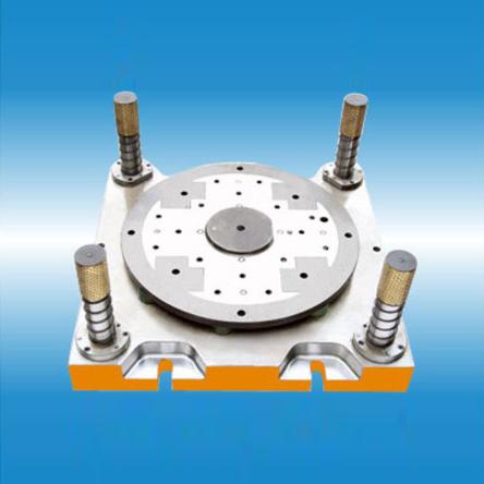 大型发电机转子冲片复合模